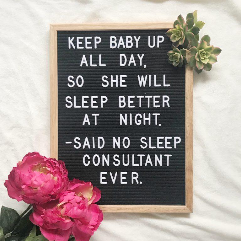 baby sleep quote - Learn Eat Sleep