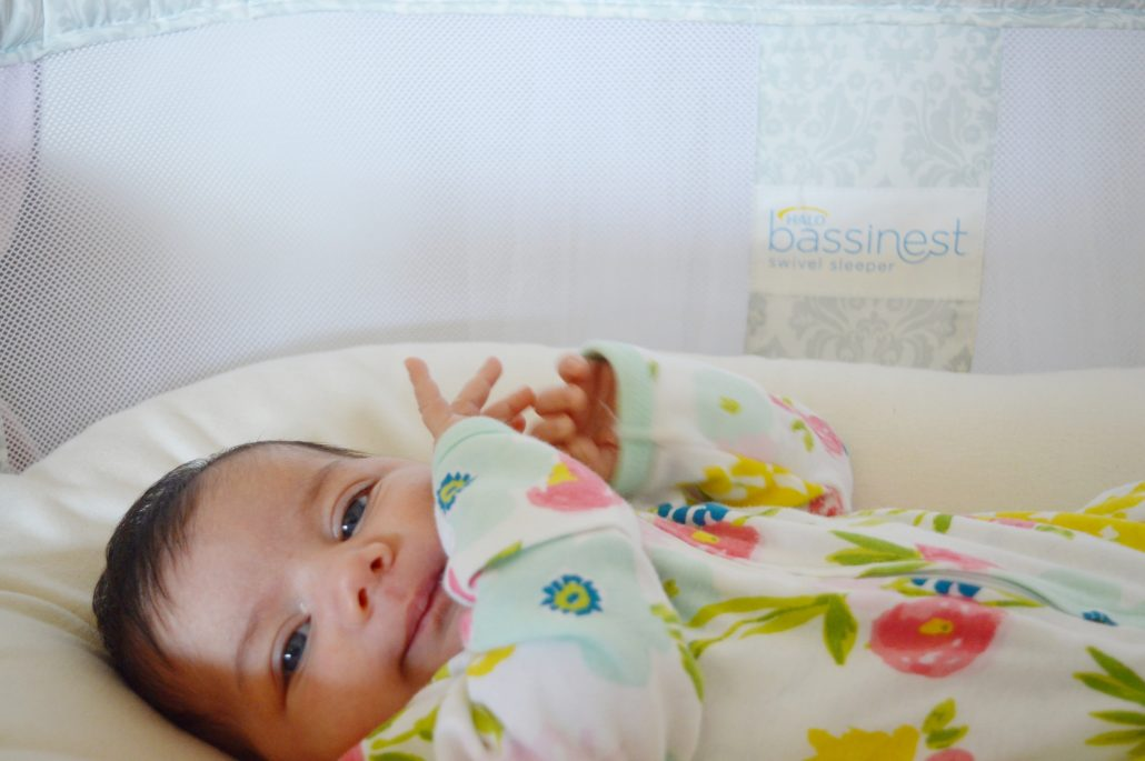 Parents can feel comfortable with the HALO Bassinest since the side walls are mesh and make for a safe environment for baby to sleep in.