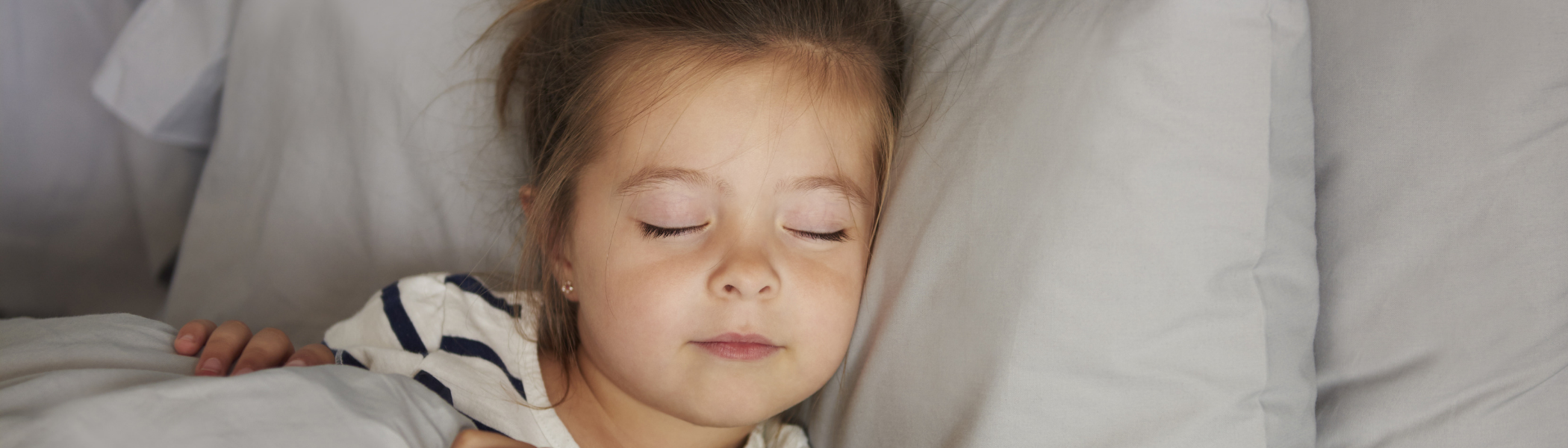 sleeping toddler girl - Learn Eat Sleep